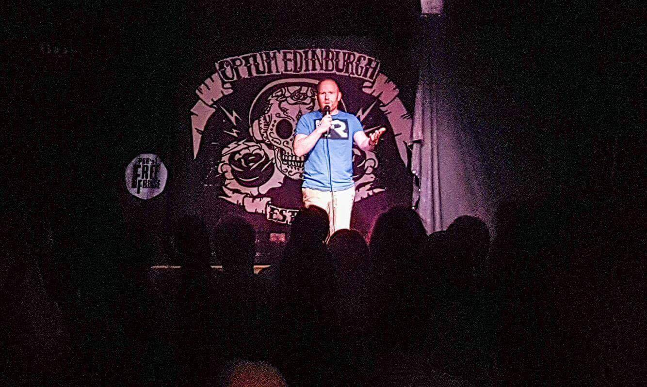 Rory o Hanlon doing stand up